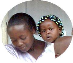 Enocks kone og datter
