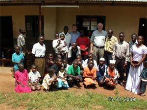 Gruppebilde etter gudstjenesten
