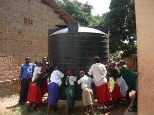 Kalagala vanntank